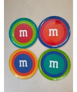 "M&M FOUR Melamine Dinner Plates Manhattan Style 10"" NEW - $29.95"