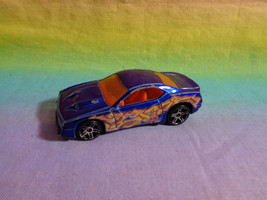 Hot Wheels Mattel 2003 Rapid Transit Blue Car Orange Interior - as is - $1.34