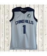 eba1907df Lamelo Ball  1 Chino Hill Basketball Stitched Jersey High School Throwba...  -