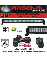 "No.1 30"" Arsenal Offroad LED Light Bar New 2017 Design Flood/Spot Combo ... - $80.18"