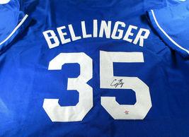 CODY BELLINGER / AUTOGRAPHED LOS ANGELES DODGERS CUSTOM BASEBALL JERSEY / COA image 1