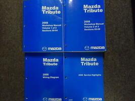 2008 Mazda Tribute Service Repair Workshop Shop Manual Set W EWD + Highl... - $66.87