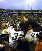CHUCK NOLL FRANCO HARRIS MEAN JOE GREENE 8X10 PHOTO PITTSBURGH STEELERS ... - $3.95