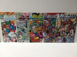 WILDCATS 1 - 5 - FIRST JIM LEE - FREE SHIPPING - $18.70