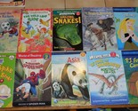 Lot of 10 Level 2 I Can Read paper Books Kids