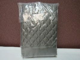 Martha Stewart Collection Quilted Grey Standard Sham T4101249 - $37.21