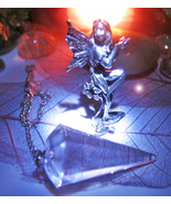 Haunted FAIRY OF SUCCESS & LUCK W/  PENDULUM TO ASK QUESTIONS Cassia4  - $49.77