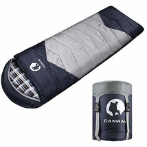 CANWAY Sleeping Bag with Compression Sack, Lightweight and Waterproof fo... - £33.13 GBP