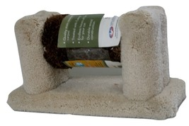 Classy Kitty Roller Cat Toy, Beige, Carpeted, New item 49995  14L x 5.5W x 7Tall image 2