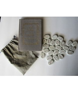 Book of Runes by Ralph Blum includes bag of Runes 10th Anniversary Ed - $39.00