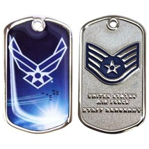 Genuine U.S. Air Force Coin: Staff Serg EAN T E-5 - $17.80