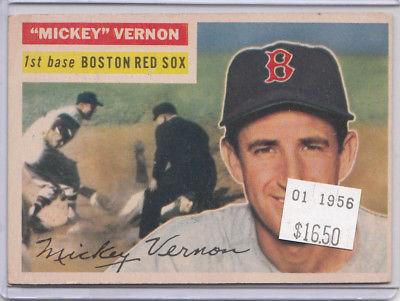 1956 Topps 228 Mickey Vernon Not Graded 01