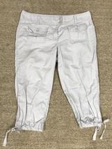 Ann Taylor LOFT Womens 12 Capri Cropped Pant Khaki - $9.89