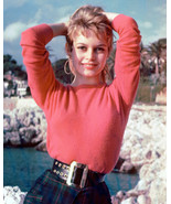Brigitte Bardot Early Pose By Sea Color 8x10 Photo (20x25 cm approx) - $9.75