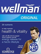 Vitabiotics Wellman 30 tablets