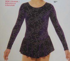 Mondor Model 2767 Ladies Skating Dress - Frosted Flower size Adult Small - $90.00