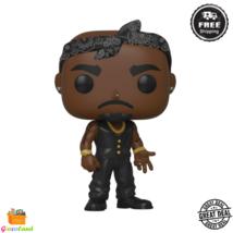 Funko POP! Rocks: Tupac With Vest and Iconic Bandana Collectible Vinyl Figure - $28.99