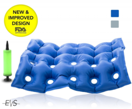 """Premium Air Inflatable Seat Cushion 17"""" X 17"""" (Waffle),Heat Sealed Const... - $39.99"""