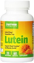 Jarrow Lutein 20mg(60 Gels) ( Multi-Pack) - $79.85