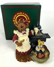 Boyds Bearstone #228326 1st Ed Aunt Becky w/ Zack...Quality Control... S... - $26.14