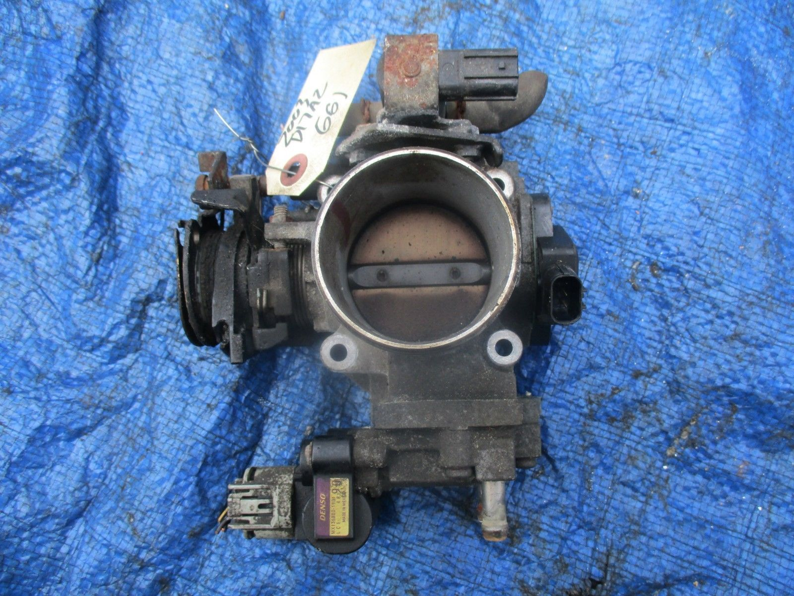Primary image for 01-05 Honda Civic D17A2 VTEC throttle body engine motor D17 D17A1 SOHC OEM TPS