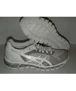 Asics women's running shoes gel quantum 360 knit white snow silver size ... - $128.65