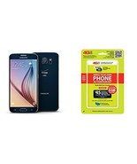 "Straight Talk Samsung Galaxy S6 ""Saphire Black"" 32GB runs on Verizon's 4... - $189.99"