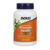 Prostate Health Clinical Strength, 90 Softgels by Now Foods - $17.05