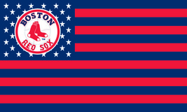 MLB Boston Red Sox Stars & Stripes 3'x5' Indoor/Outdoor Team Nation Flag... - $9.99