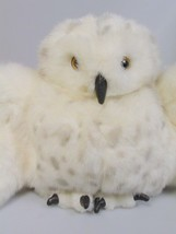 spotted Snow owl Puppet Plush Preschool Folkmanis toy storytime caregive... - $50.36