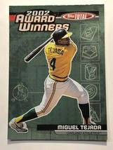 2003 Topps Total Award Winners #AW3 Miguel Tejada Oakland Athletics MLB ... - $0.99