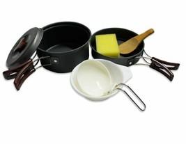 Camping Cookware - Cooking Picnic Bowl Pot Pan Set  -Outdoors - $9.70