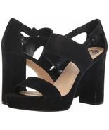 Vince Camuto Jayvid Platform Block Heel Sandals, Multiple Sizes Black VC... - $109.95