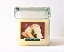 Village Candle Square Double Wick Creamy Vanilla 26 Ounce Candle - $25.00