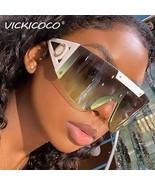 from US, CN  Fashion Oversized Windproof Sunglasses Women Luxury Designe... - $28.82+