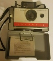 Vintage Polaroid 104 Automatic Land Camera with Polaroid 2 Minute Timer Modl 128 - $14.55