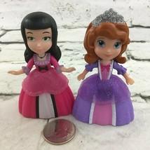Disney Sofia the First Princess Mini Dolls Figure Lot of 2 - $9.89