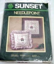 Sunset Needlepoint Kit Ivory Lace Advanced Dawne Marshall Cooley 6316  - $14.99
