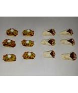 Dollhouse Miniature Tacos And Burrito Set Dolls Food Snack  - $8.50