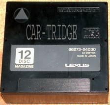 MAGAZINE CARTRIDGE FOR Lexus 12 DISC CD Changer  86273-24030 PANASONIC N... - $18.05