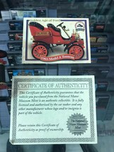 National Motor Museum 1903 Model A Tonneau Golden Age Of Ford #Ed 300 New - $16.88