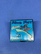 Stitch Alien Surf Disney Pin Lilo Experiment 626 Aloha pin on pin - $14.99