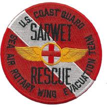 USAF CG SAR Sarwet Sea Air Rotary Wing Evac Team Diver Patch 4.0'' x 4.0'' - $13.85