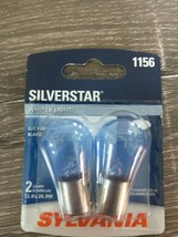 2-PK SYLVANIA 1156 SilverStar High Performance Automotive Bulb~White New... - $14.68