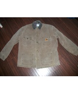 Well Worn Mens Carhartt Blanket Lined Chore Coat Size Large - $20.00