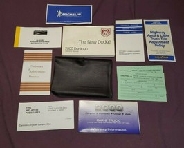 2000 Dodge Durango Owner Owner's Manual & Supplemental Documents with Case  - $14.55