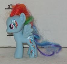 2014 My Little Pony Rainbow Dash G4 MLP Hasbro Blue Cutie Mark Magic - $9.50