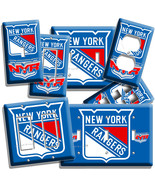 NEW YORK RANGERS NYR HOCKEY NY TEAM LOGO LIGHT SWITCH OUTLET WALL PLATE ... - $8.09+