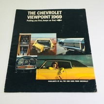 1969 Chevrolet Viewpoint Showroom Dealership Car Auto Brochure Catalog - $9.22