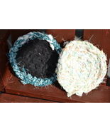 "Handmade Scrubbies (Dishcloth & Potholders) Multi-Green-Pinks 1/2"" RRM107 - $2.69"